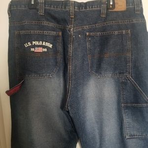 Mens US polo jeans